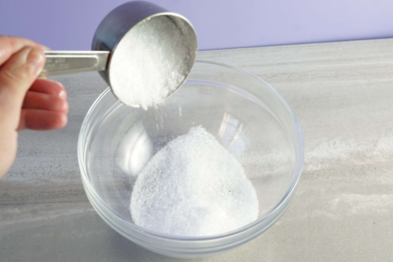 Blend the Epsom salt and sea salts.