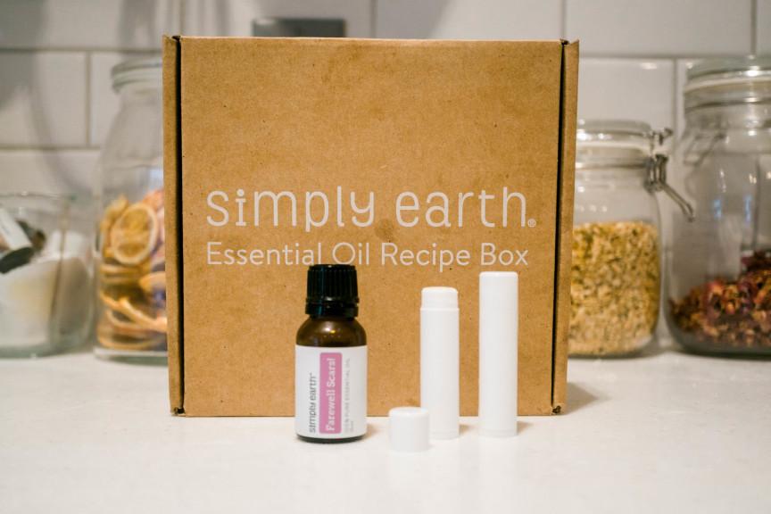 DIY Lip Rejuvenating Lip Balm with Essential Oil Recipe