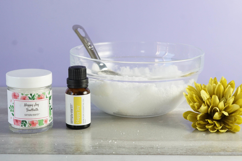 Happy Joy essential oil foot bath