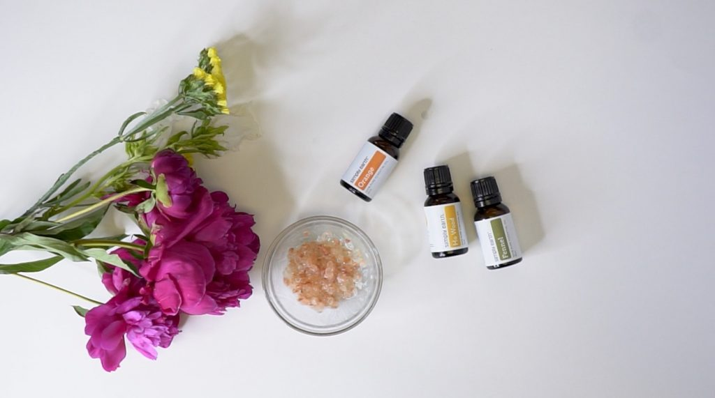 Create Your Own Detox Salt Bath Soak