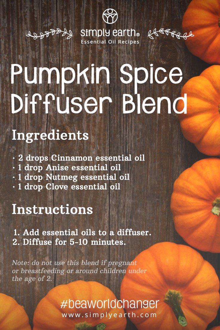 Pumpkin Spice Diffuser Blend