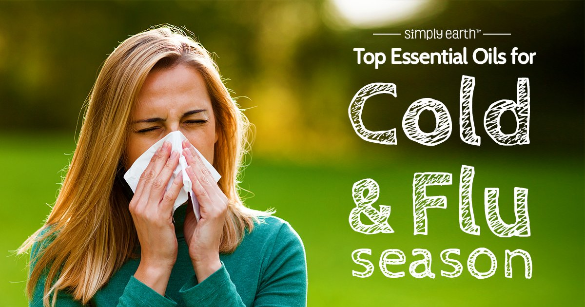 top essential oils for cold and flu season