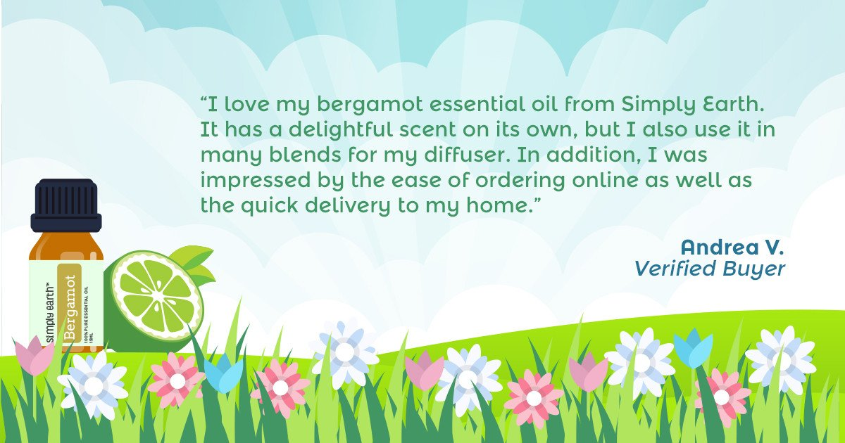 Simply Earth Bergamot Essential Oil review