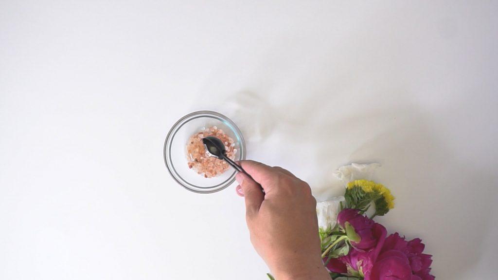 himalayan pink salt scrub