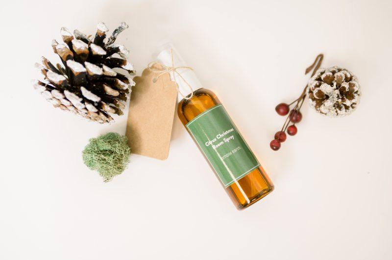 Citrus Christmas Room Spray Recipe