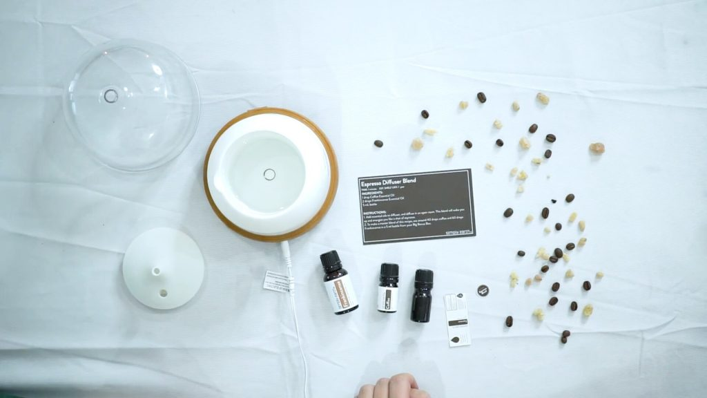 energizing essential oil blend, espresso diffuser blend 1