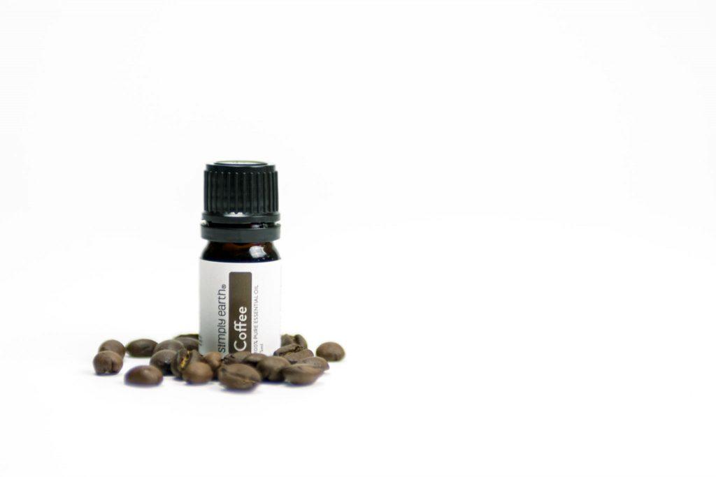 energizing essential oil blend, coffee essential oil