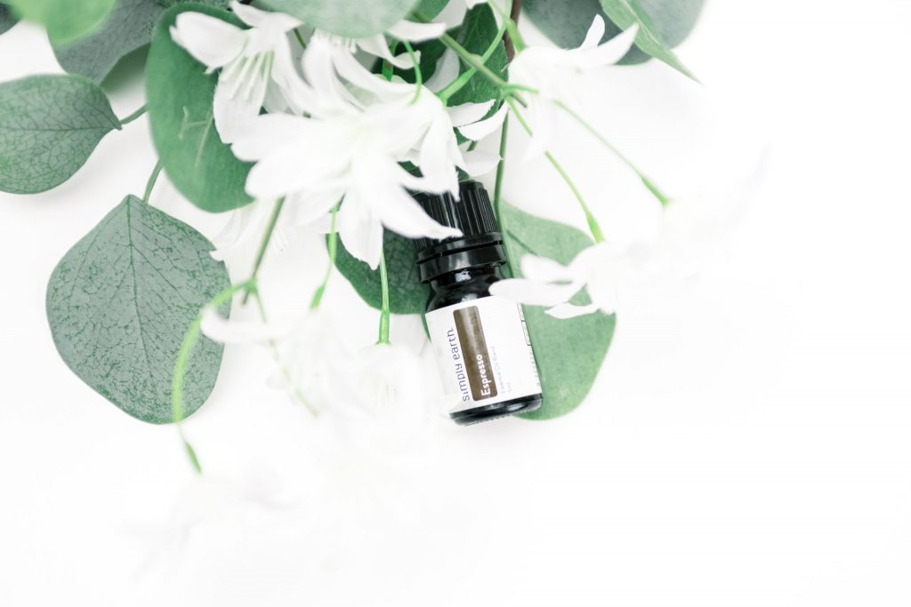 energizing essential oil blend, espresso diffuser blend