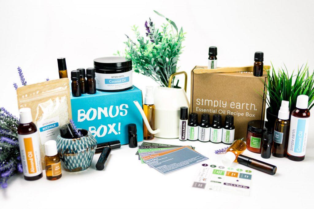 april essential oil recipe box
