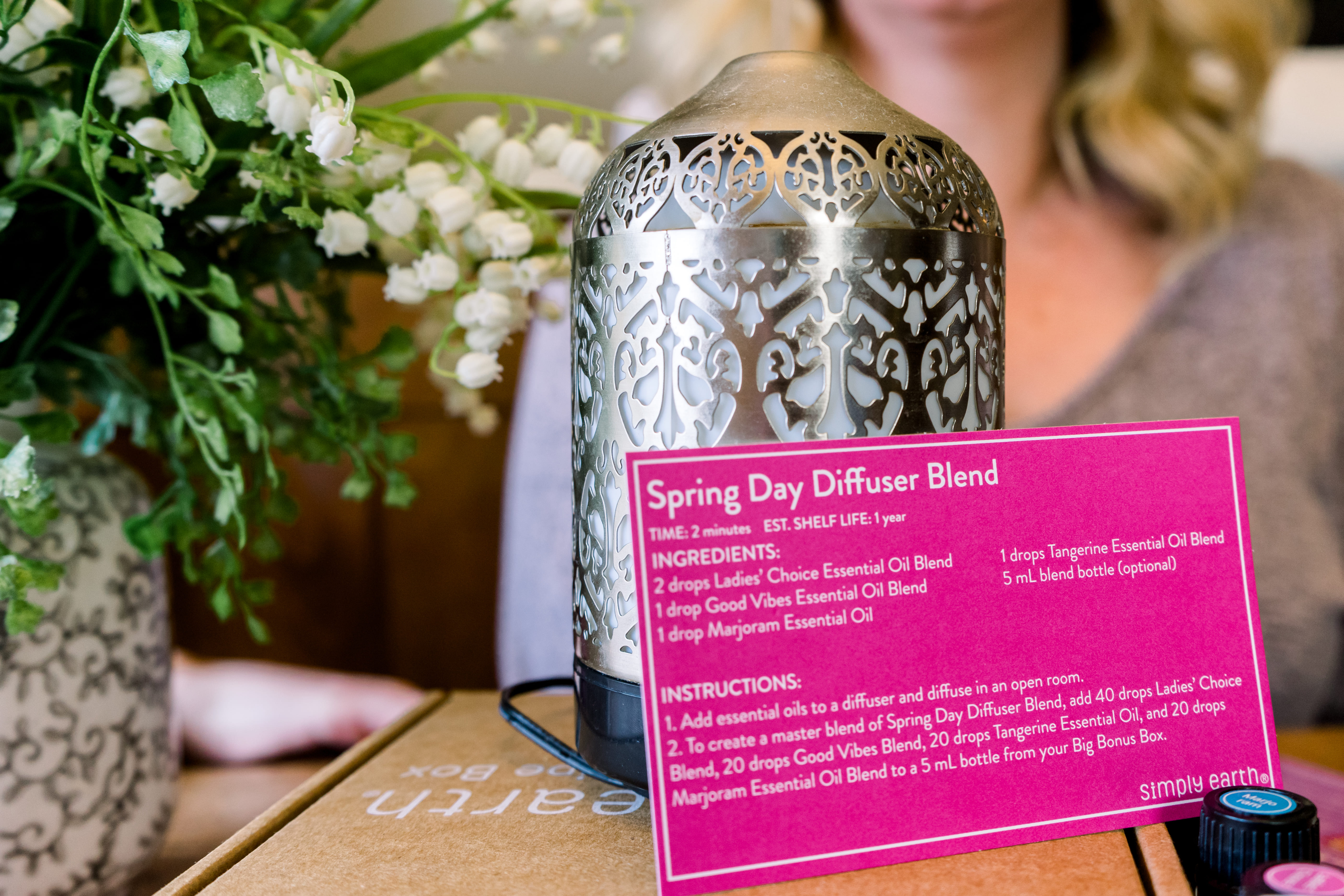 Must Have Spring Diffuser Recipe This Season Simply Earth Blog
