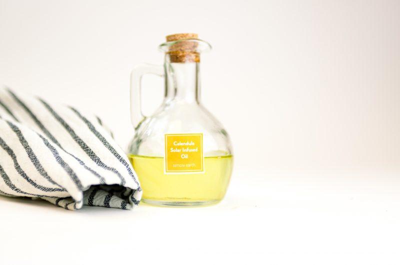 Calendula Solar Infused Oil