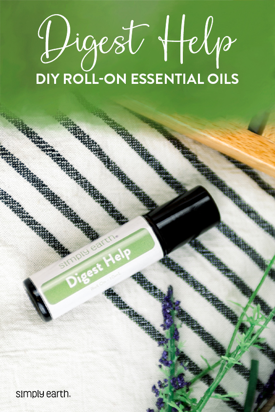 essential oils for digestion, Digest Help Roll On