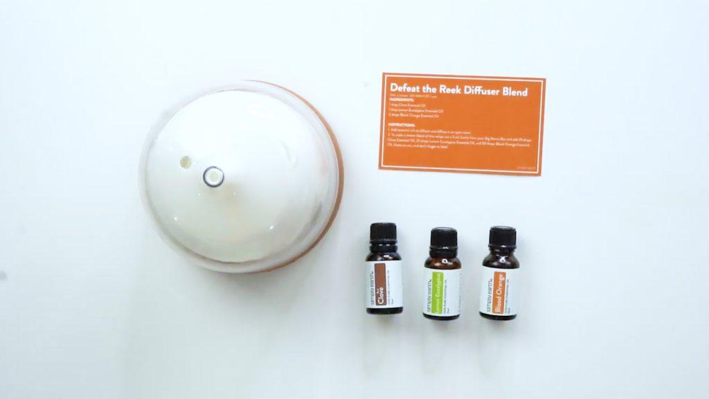 odor eliminator diffuser recipe